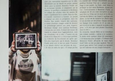 Josef Helie - Sud Ouest Magazine mai 2018 - 2